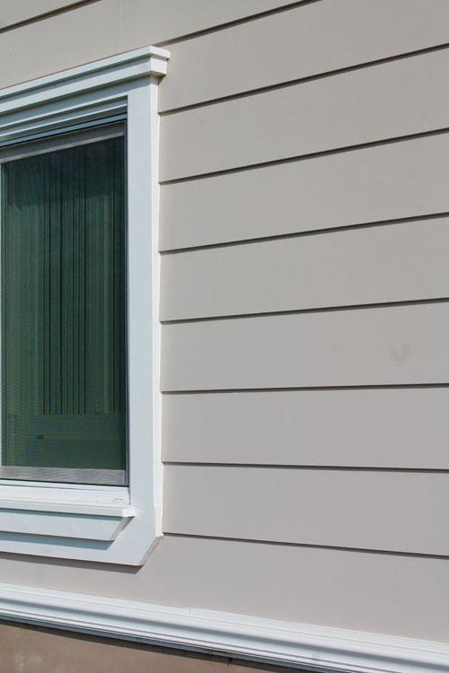 Window Trim And Exterior Siding Detail